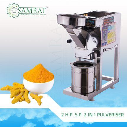 2 in 1 Pulveriser, 2 in 1 Pulveriser Machine in Rajkot, Pulveriser Machine in India, Pulveriser Machine Manufacturer in India, Pulveriser Machine Manufacturer in India
